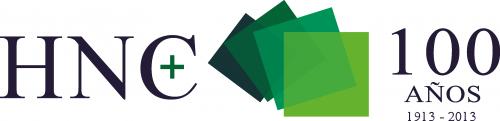 Logotipo 100 años HNC